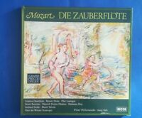 D414 Mozart The Magic Flute VPO Solti 3 LP DECCA 635189 GF Stereo