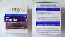 L´OREAL PARIS WHITE PERFECT TOTAL RECOVER SLEEPING MASK 50 ml Night Treatments