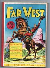 FAR WEST (Une Sélection d'histoires de). Album n°2 (n°1 à 5). MARIJAC  1955