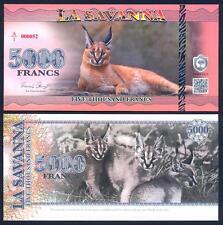 LA SAVANNA 5000 Francs 2015 UNC