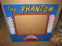 NOS Monitor Bezel  Arcade Game 8 liner Cherry Master POG Fruit The Phantom