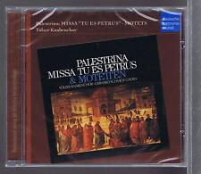 PALESTRINA CD NEW MISSA TU ES PETRUS MOTETS