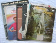 Group Of Older Crocheting and Other Needlework Booklets