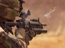Guerra Ejercito Soldado Pistola Rifle Marino Bala Shell Poster Print bb3380a