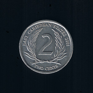 East Caribbean States - 2 Cents - 2002 - KM# 35
