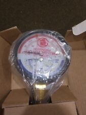 "Hatco 03.01.003.00 3"" Dial 1/2""Npt Temperature Pressure Guage Surplus #"