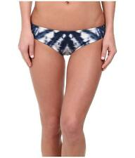 KAS NEW YORK CLEA CHEEKY REVERSIBLE BIKINI SWIM BOTTOMS BLUE MULTI SMALL NEW $86