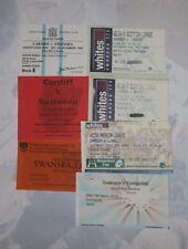 SWANSEA v CARDIFF LLANELLI NEATH & PONTYPRIDD RUGBY TICKETS 1992 2003 GROUP OF 7