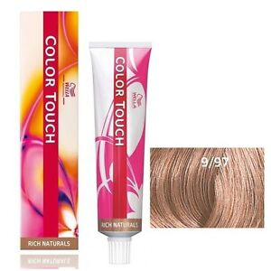Wella Color Touch 9/97 very light blonde / cendre brown 2 oz / 57 g demi