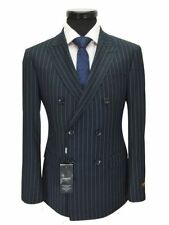 Wool Blend Striped Suits & Tailoring for Men