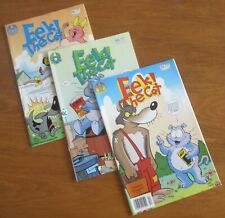 Eek! The Cat - Vintage Comics - Complete Set - Numbers 1, 2, & 3 - 1994