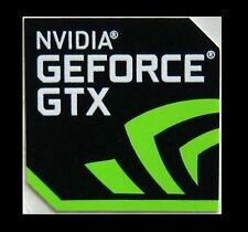 NVIDIA GEFORCE GTX Sticker 17.5 x 17.5mm Case Badge Logo USA Seller