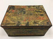 1890s Circa C.H.Y.P. Inter-collegiate Mixture Sports-themed Tobacco Tin