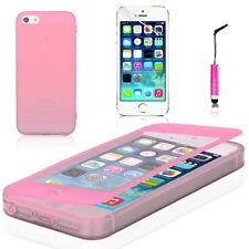 Housses et coques anti-chocs roses transparentes iPhone 6 Plus pour téléphone mobile et assistant personnel (PDA)