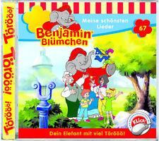 Benjamin Blümchen - Folge 67 - Meine schönsten Lieder - Hörspiel - CD - *NEU*