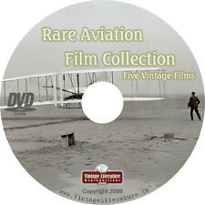 Rare Aviation Films { Aeroplane and Flight History } on DVD
