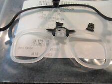 AVON M50 JSGPM GAS MASK VISION CORRECTION EYEGLASS INSERT GLASSES 71014/1 - NEW