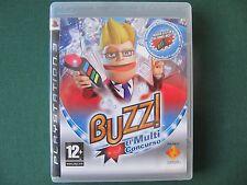 Ps3 Buzz Quiz TV  Buzz PAL España BUZZ EL MULTICONCURSO