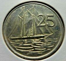 Cayman Islands  1982  25 Cents
