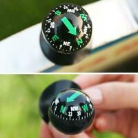 Mini Auto Car Dashboard Truck Suction Pocket Navigation Mount Compass Ball C6Y7