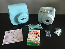 Brand New In Box Fujifilm Instax Mini 8 Instant Camera Matching Case & Film Pack