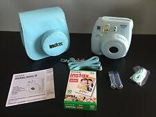 Brand New In Box Fujifilm Instax Mini 8 Instant Camera Matching Case & Film Pack
