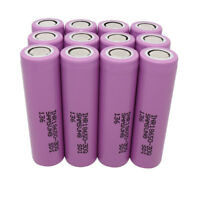 12X 18650 30Q 3000mAh High Drain 3.7V Li-ion Rechargeable Battery
