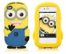 Cover CUSTODIA per IPHONE 6 Silicone 3D CATTIVISSIMO ME DESPICABLE ME MINION
