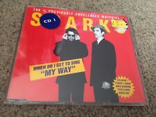 Sparks – When Do I Get To Sing My Way CD Single Red Cover
