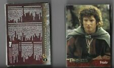 TOPPS LOTR: TWO TOWERS 162 CARD BASE AND UPDATE SETS -MINT/NM