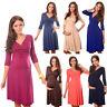 Purpless Maternity Dress Vneck Pregnancy Clothing Size 8 10 12 14 16 18 Top 4400