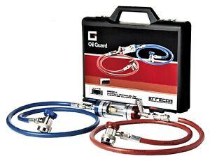 Diagnosegerät R1234yf für Klimaanlagen mit HD / ND Schnellkupplung Adapter