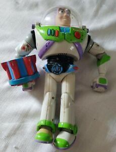 Vntg 2001 HASBRO Disney Pixar Buzz Lightyear w/Utility Belt PARTS/REPAIR ONLY