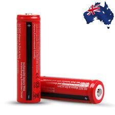 2pcs Rechargeable Battery Batteries Power 18650 4000mAh 3.7V EYBAT 8651x2