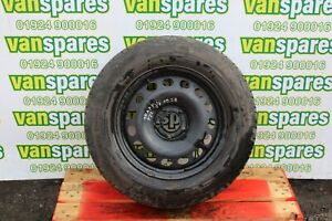 """RENAULT TRAFIC 16"""" SPARE STEEL WHEEL + CONTINENTAL TYRE 9.39MM 215/65R16C"""