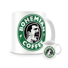 Freddie Mercury Tribute Starbucks Mug - Bohemian Coffee