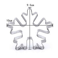 Stainless Steel Biscuit Pastry Cookie Cutter Cake Decor Baking Mold Mould Tool