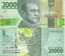 INDONESIA 20000 Rupiah Banknote World Paper Money UNC Currency Pick p-NEW 2016
