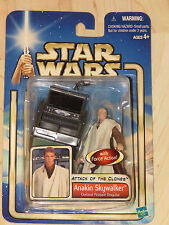 Star Wars Ep II AOTC #01 Anakin Skywalker Outland Peasant Disguise NOSC