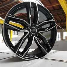 19 Zoll Damina DM05 Alu Felgen 5x112 et35 schwarz für A4 A5 A6 A7 S-Line RS Q3