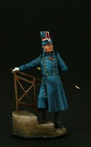 Tin soldier, Collectible, Officer of 3rd Regiment Cuirassier, 54 mm, Napoleonic