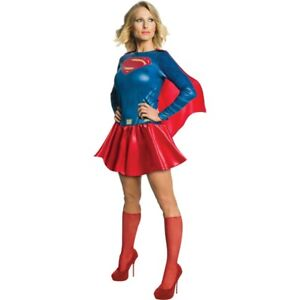 Supergirl Costume Adult - Large