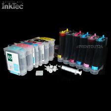 CISS para hp84xl hp85xl tinta Refill Ink set impresora tinta nachfüll tinta cartucho