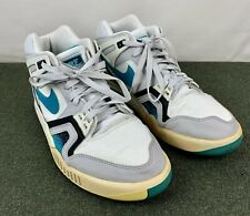 NIKE Air Tech Challenge II Agassi's turbo green men's size 10 pre-owned Read