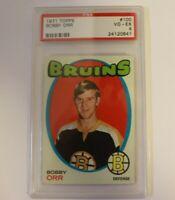 1971 Topps Hockey Bobby Orr #100 PSA 4