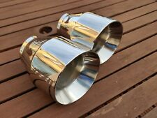 BMW M140i/M240i/M135i/M235i  Full Stainless Exhaust Tips. 101mm dia. Weld on
