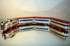 Marx M10005 Streamliner Locomotive + 3 Cars TESTED & RUNNING Partial Box