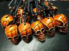 12pc Cool tibet design skull rock skull head  pendant necklace  HS3002