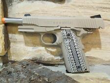 Colt M45A1-M1070CQBP Metal CO2 blowback Airsoft Gun Pistol Desert Sand Snakeskin