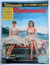 ►CINE MONDE 1262/1958-BRIGITTE BARDOT-DANY CARREL-LUIS MARIANO-DUKE ELLINGTON...